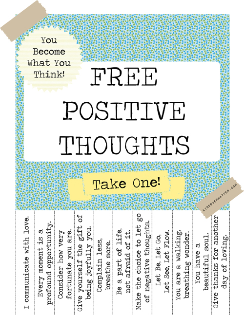 PositiveThoughtsPoster